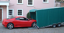 Car transport by Midland Car Storage